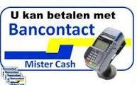 Bancontact betalen